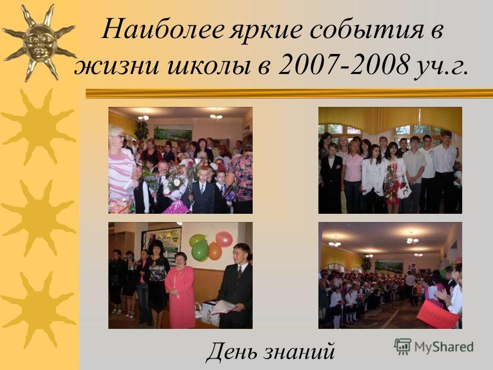 Рис.5. МОНИТОРИНГ УЧАСТИЯ В СОЦИАЛЬНО-ДОСУГОВЫХ МЕРОПРИЯТИЯХ ЗА 2006/2007; 2007/2008 УЧЕБНЫЙ ГОД
