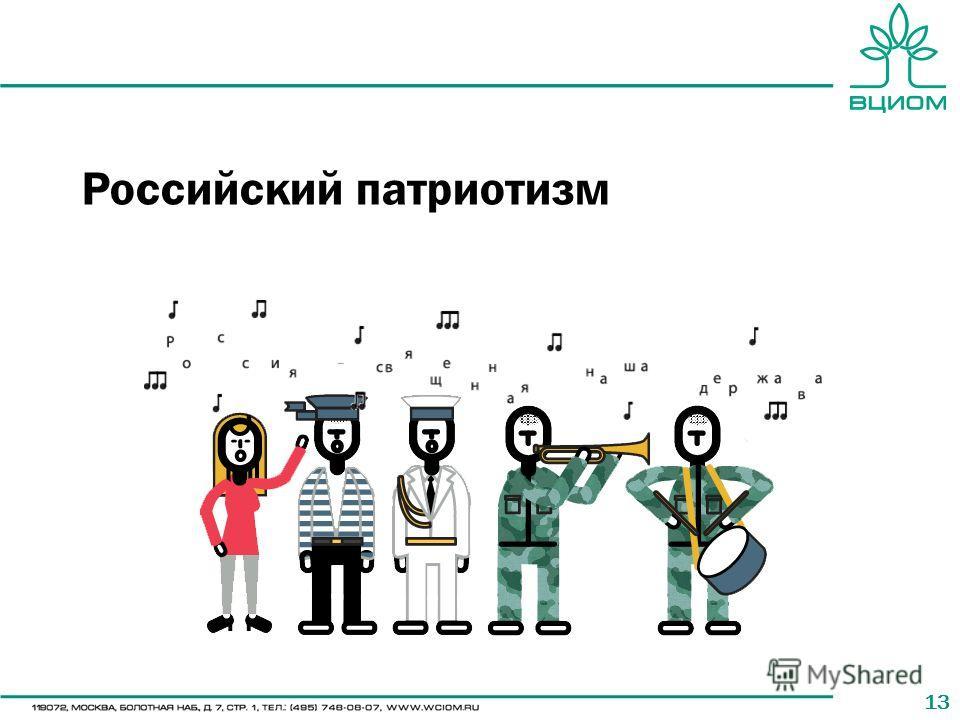 13 Российский патриотизм