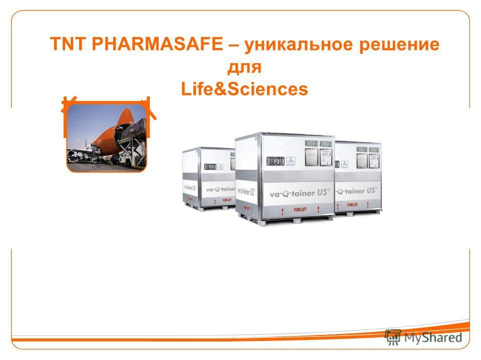 TNT PHARMASAFE – уникальное решение для Life&Sciences