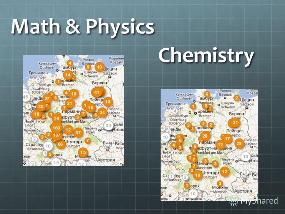 Math & Physics Chemistry