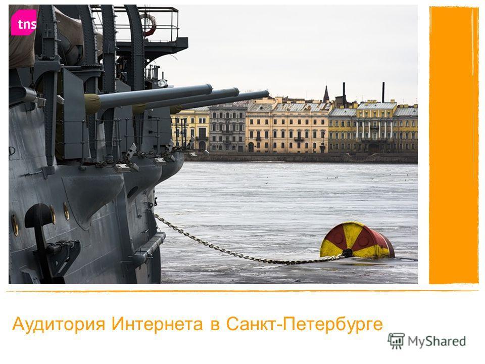 Аудитория Интернета в Санкт-Петербурге