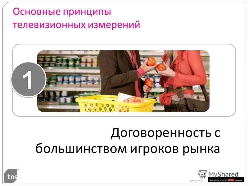© TNS 2011 Основные принципы телевизионных измерений