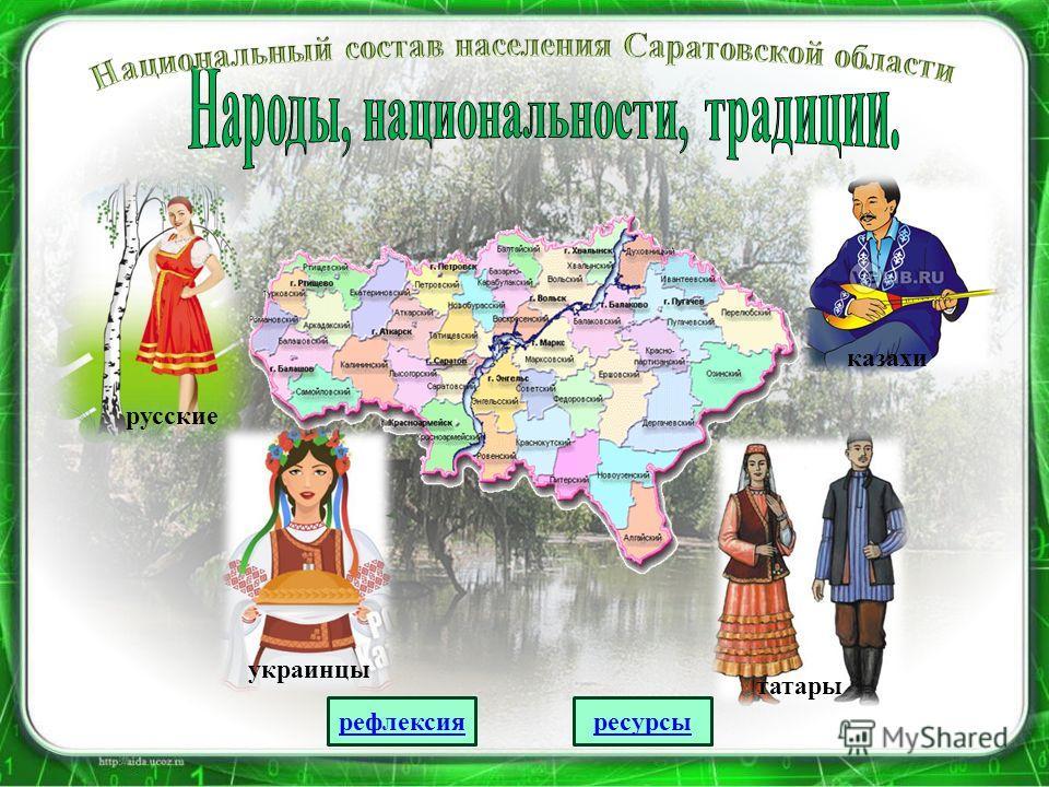 русскиеукраинцы татары казахи рефлексия ресурсы