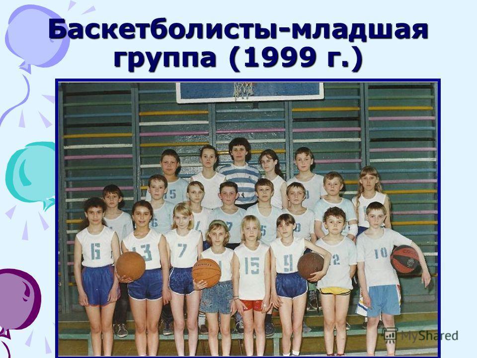 Баскетболисты-младшая группа (1999 г.)