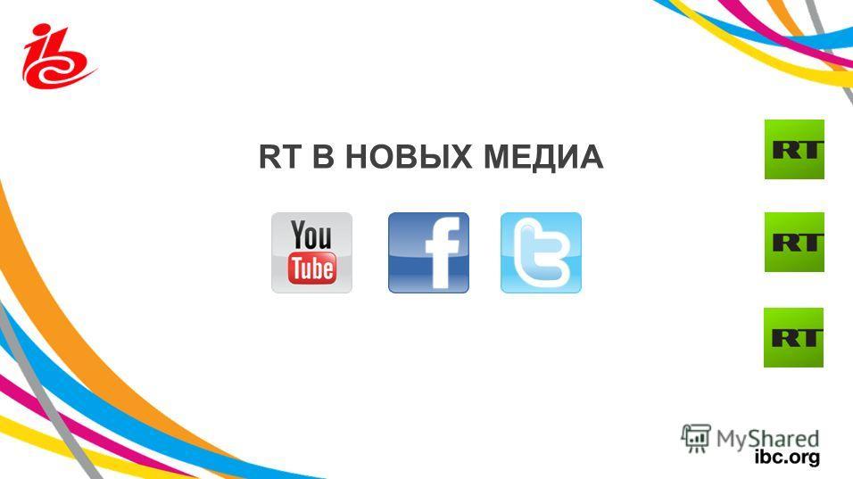 RT В НОВЫХ МЕДИА