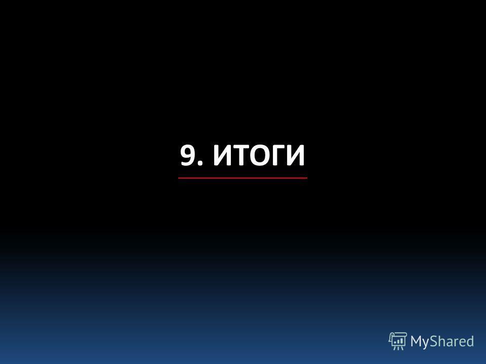 9. ИТОГИ