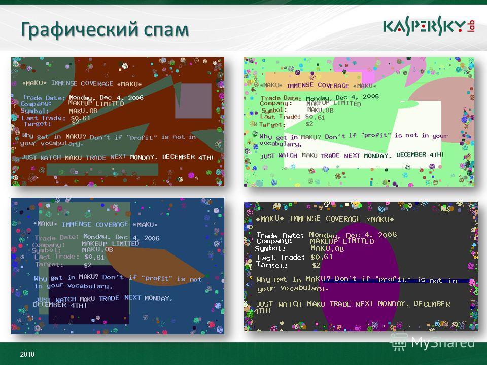 2010 Графический спам