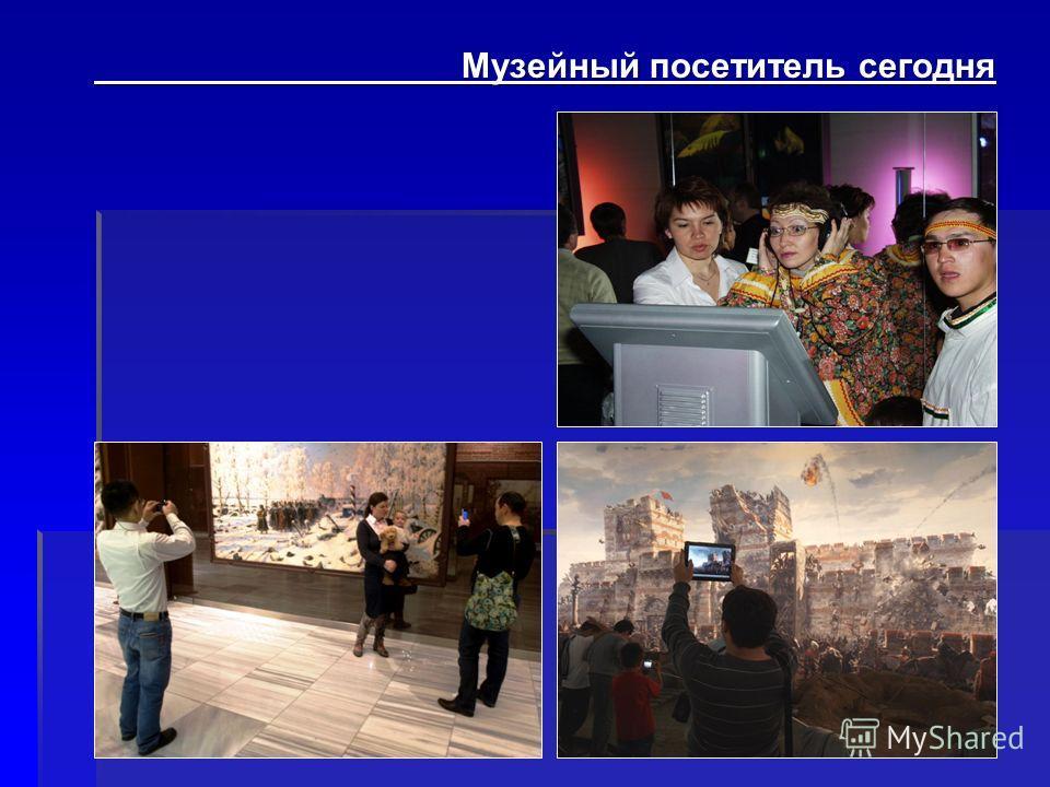 Музейный посетитель сегодня Музейный посетитель сегодня