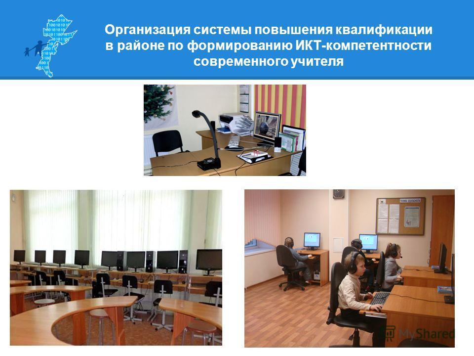 Организация системы повышения квалификации в районе по формированию ИКТ-компетентности современного учителя