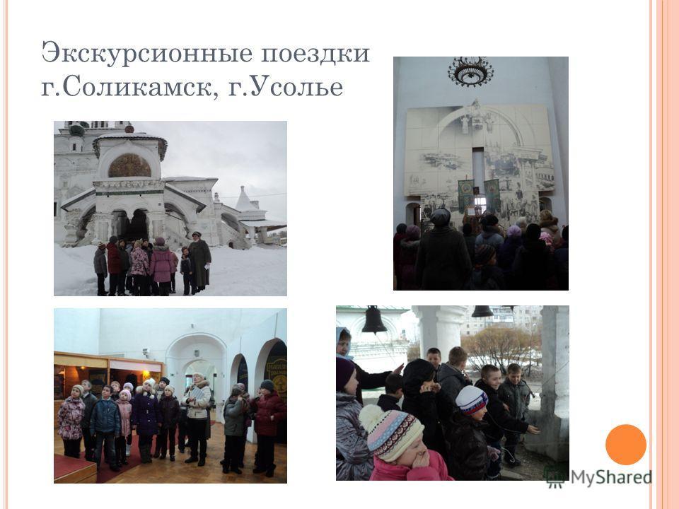 Экскурсионные поездки г.Соликамск, г.Усолье