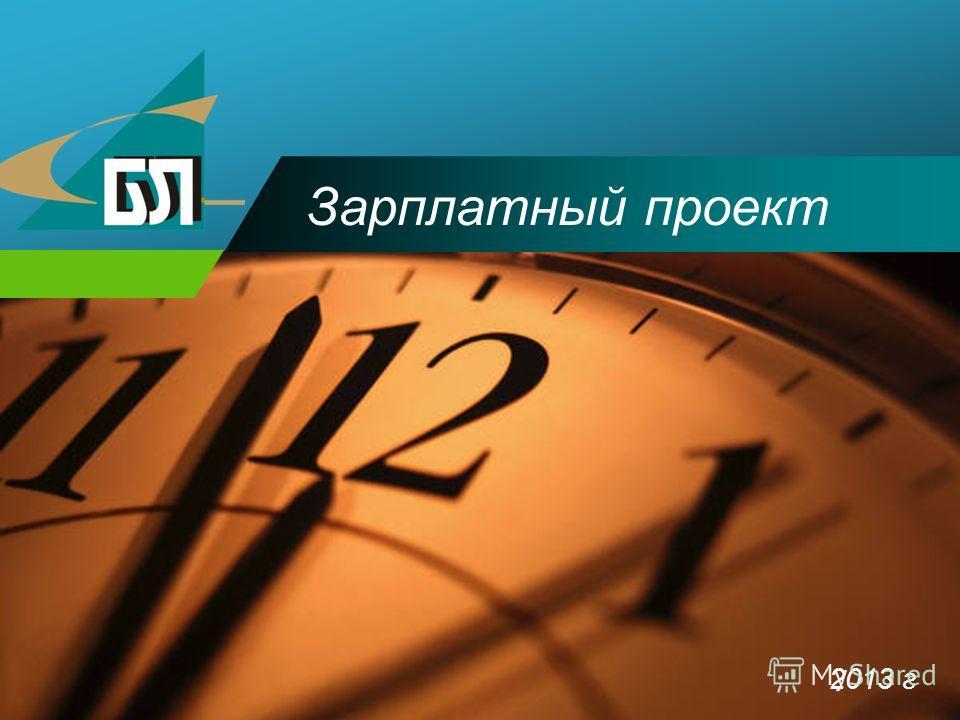 Company LOGO Зарплатный проект 2013 г