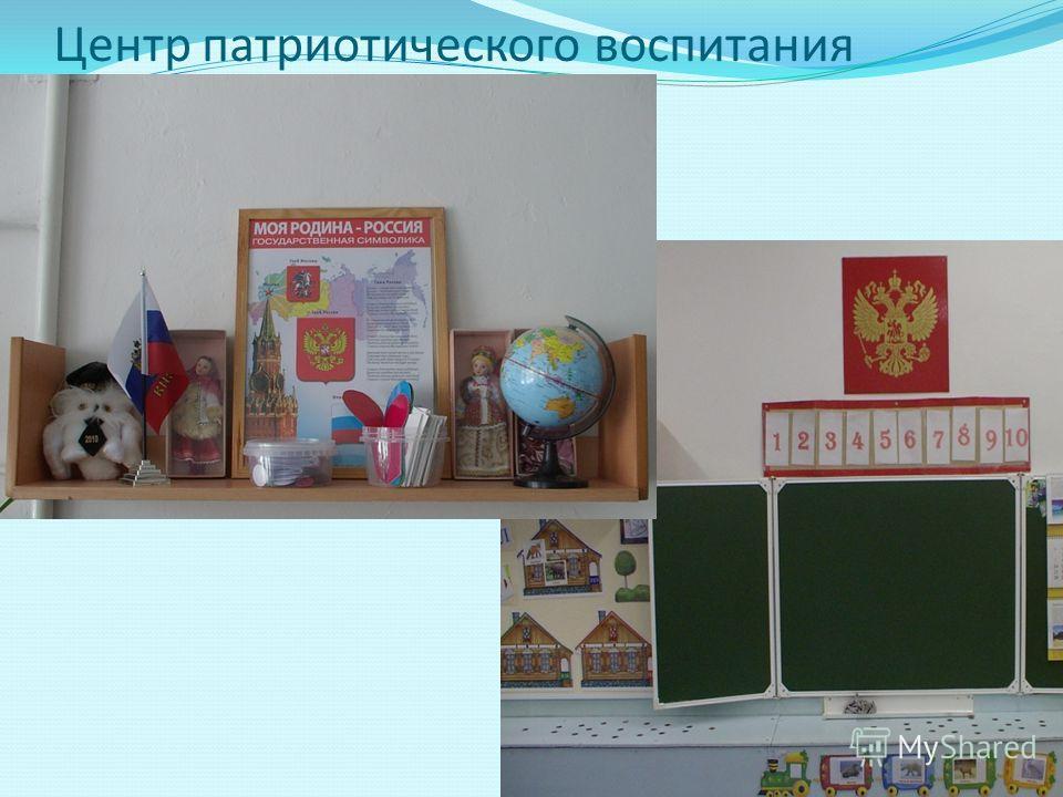Центр патриотического воспитания