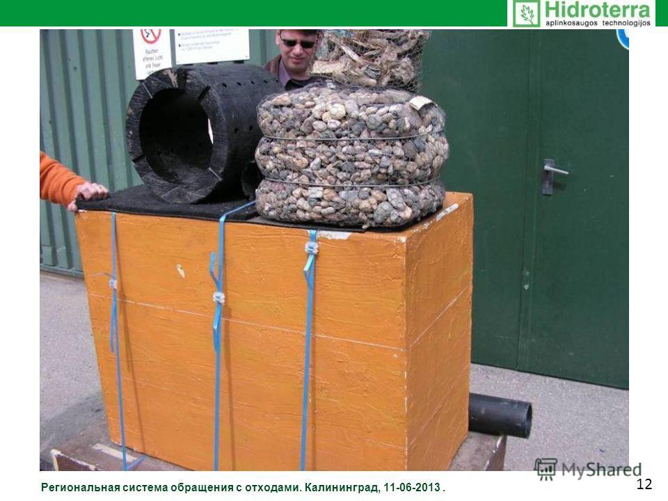 Региональная система обращения с отходами. Калининград, 11-06-2013. 12