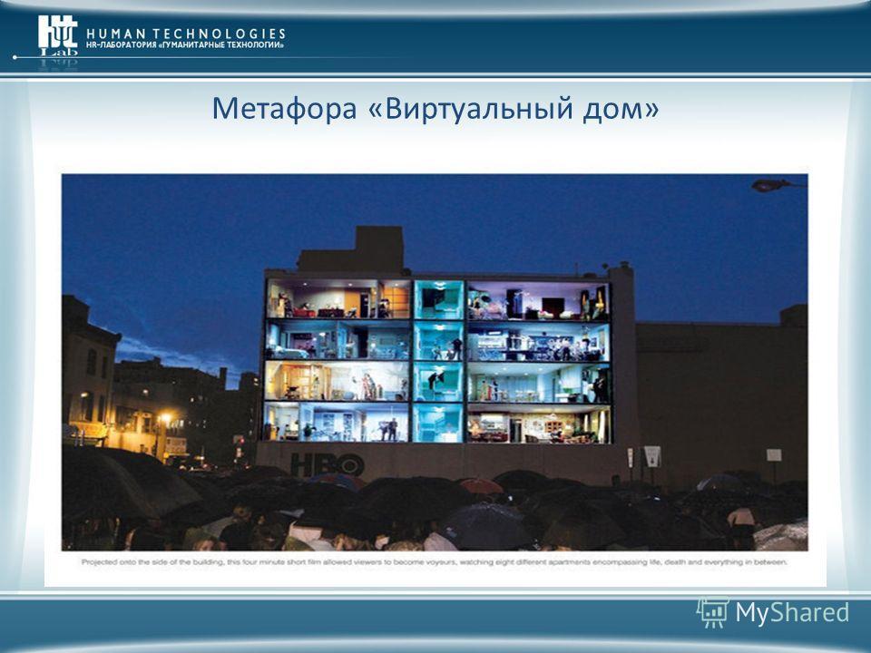 Метафора «Виртуальный дом»