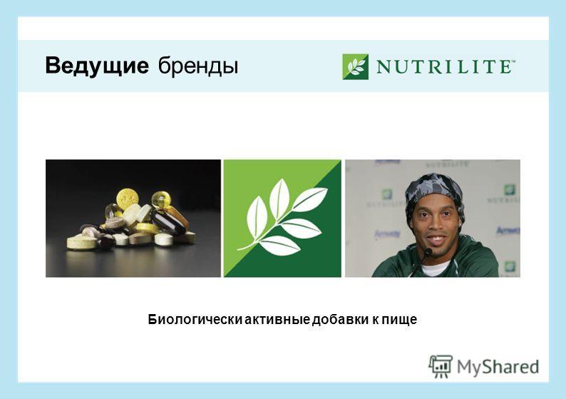Биологически активные добавки к пище Ведущие бренды