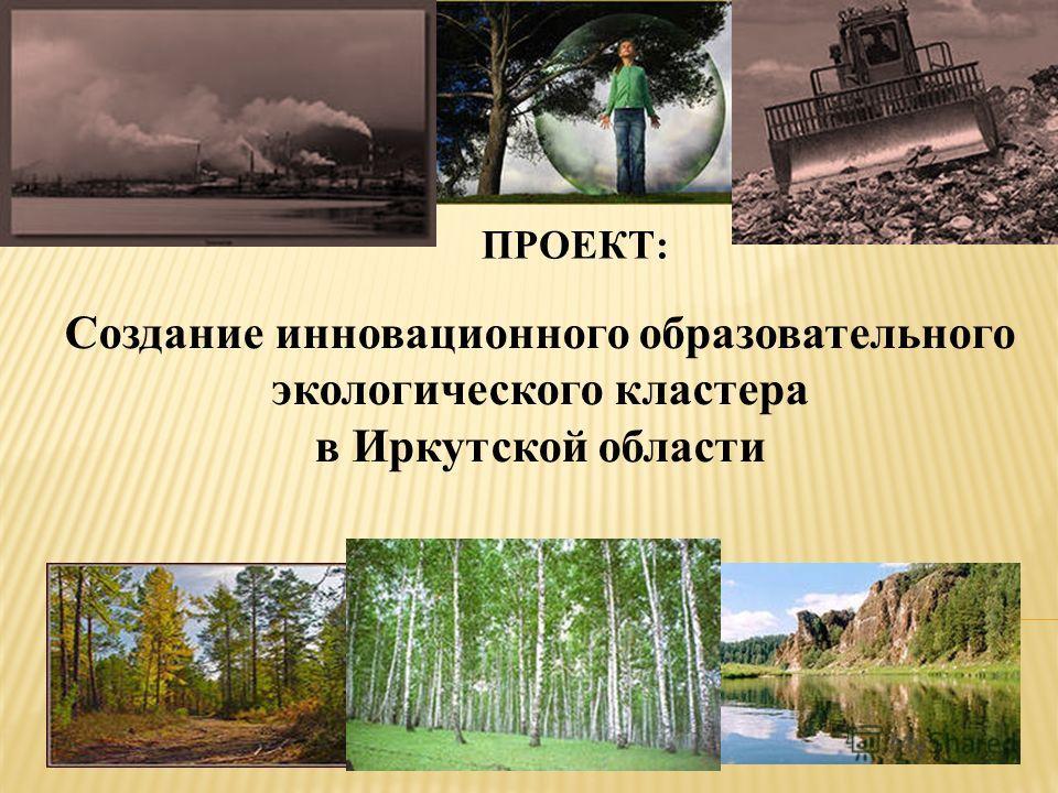 Создание инновационного образовательного экологического кластера в Иркутской области ПРОЕКТ: