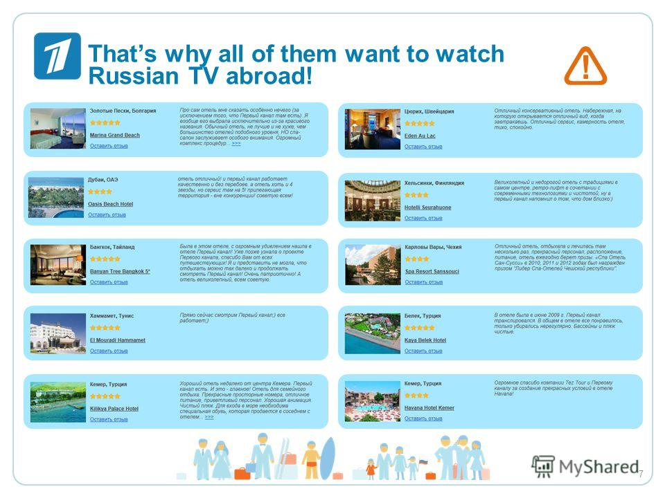 ! Thats why all of them want to watch Russian TV abroad! 7