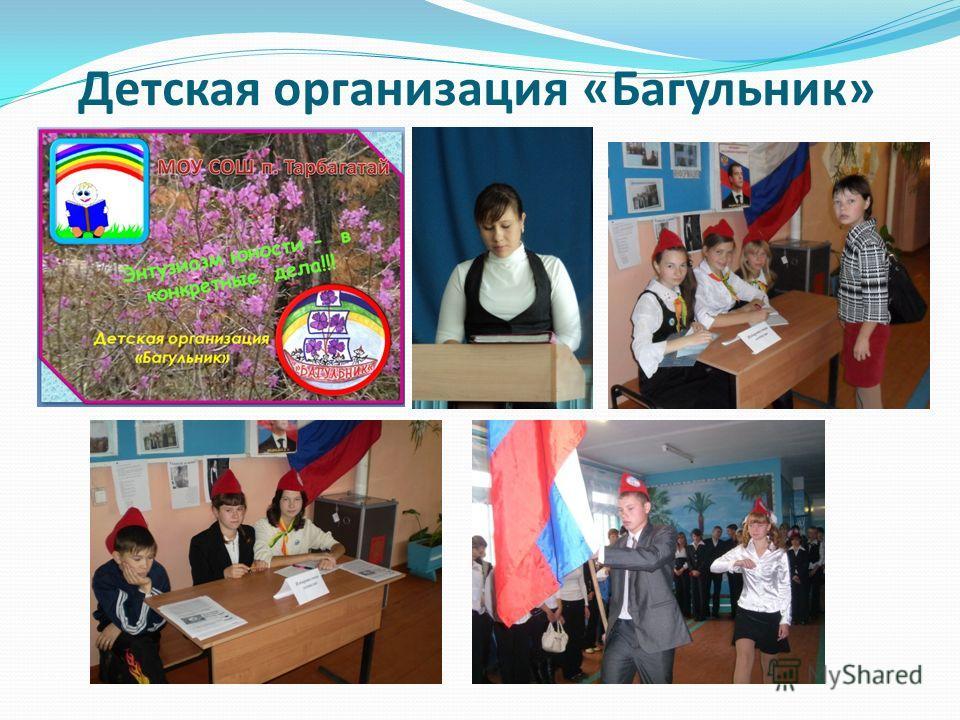 Детская организация «Багульник»