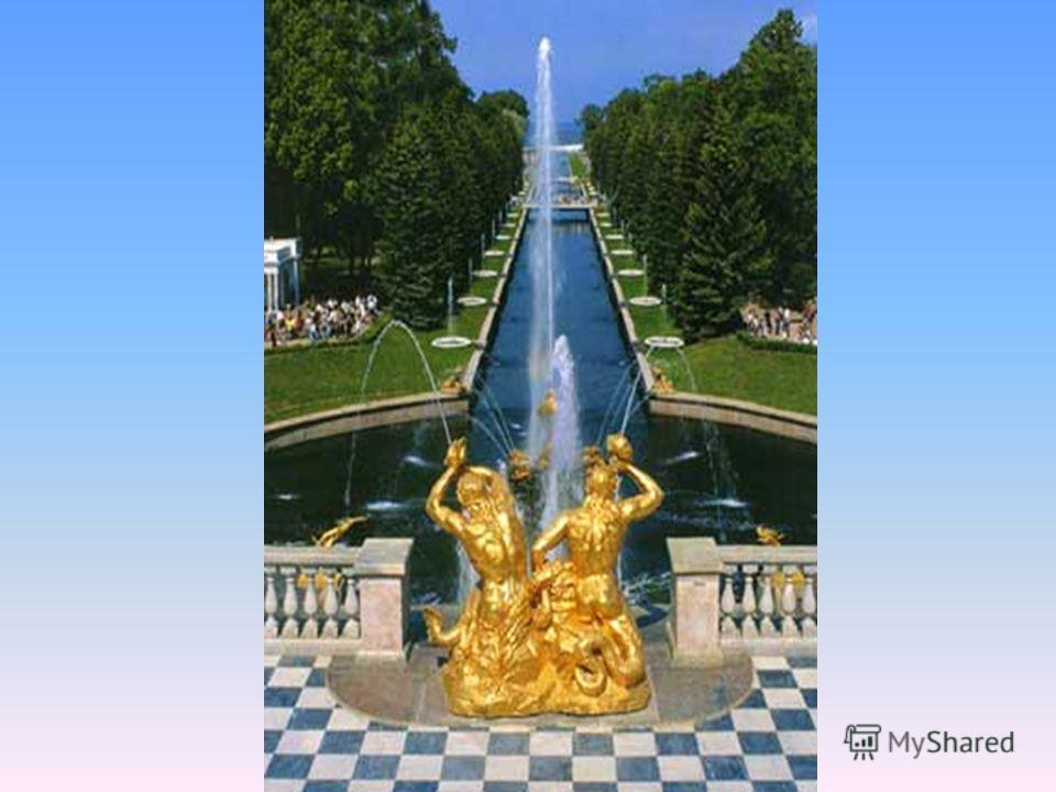Фонтан «Водоём» Огромный по своей площади фонтан – панорама.