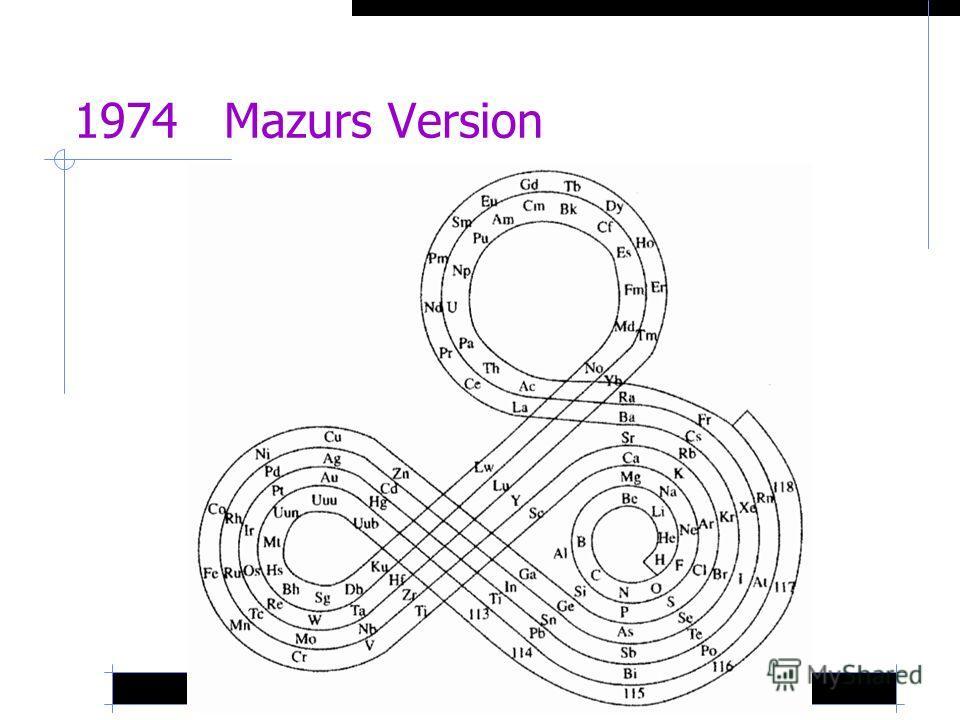 1974 Mazurs Version