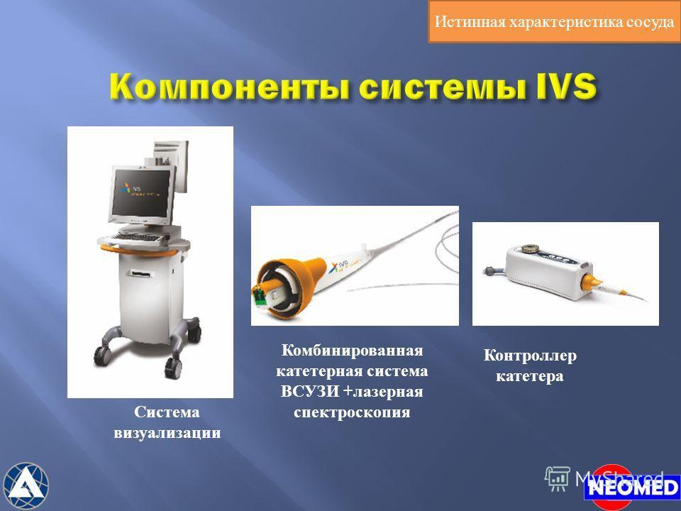 Система визуализации Комбинированная катетерная система ВСУЗИ +лазерная спектроскопия Контроллер катетера Истинная характеристика сосуда