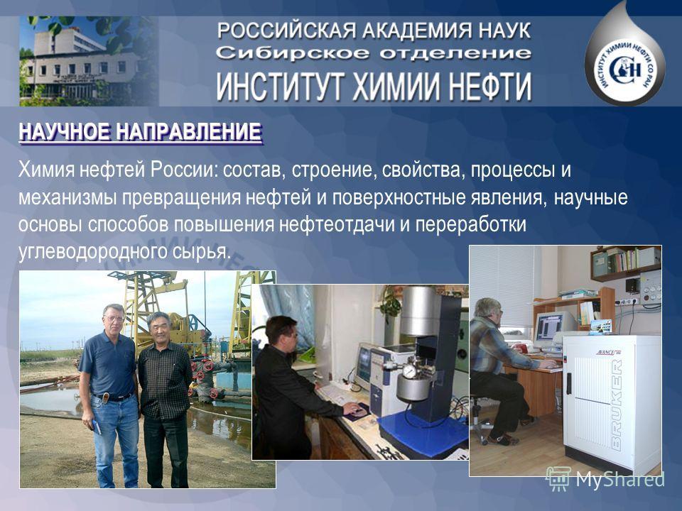 Основан в 1970 году 200 сотрудников: При Институте работает единственный за Уралом Совет по защите докторских диссертаций по специальности