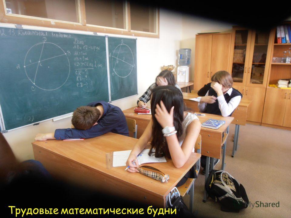 Трудовые математические будни