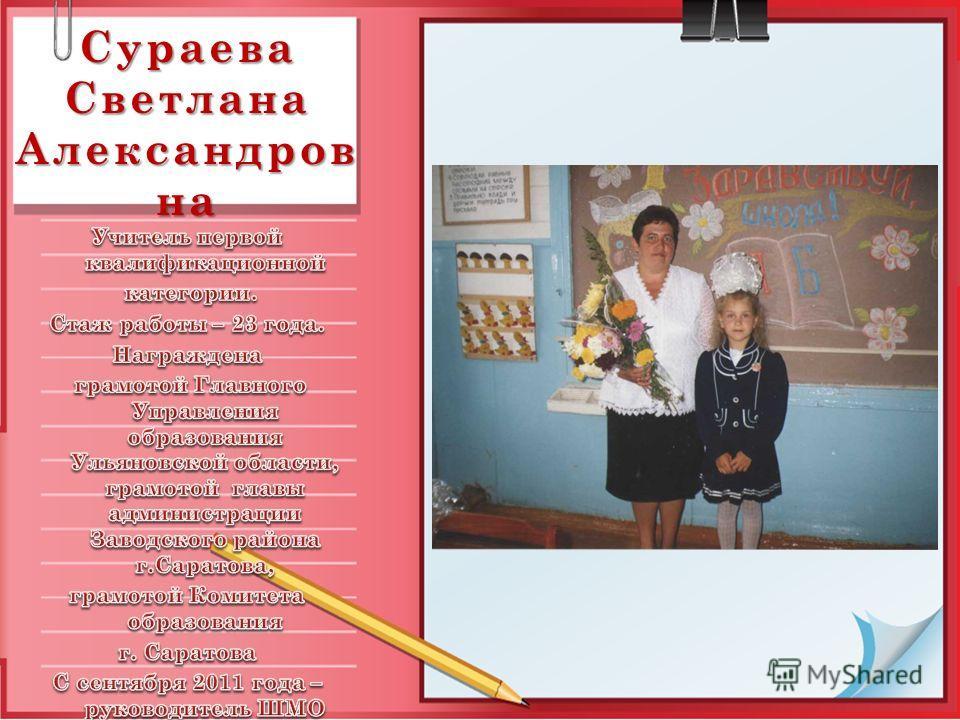 Сураева Светлана Александров на