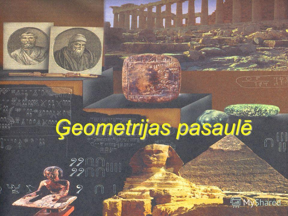 Ģeometrijas pasaulē