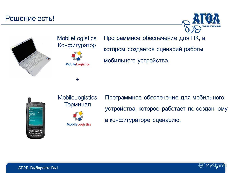 Программное обеспечение для ПК, в котором создается сценарий работы мобильного устройства. Программное обеспечение для мобильного устройства, которое работает по созданному в конфигураторе сценарию. MobileLogistics Конфигуратор MobileLogistics Термин