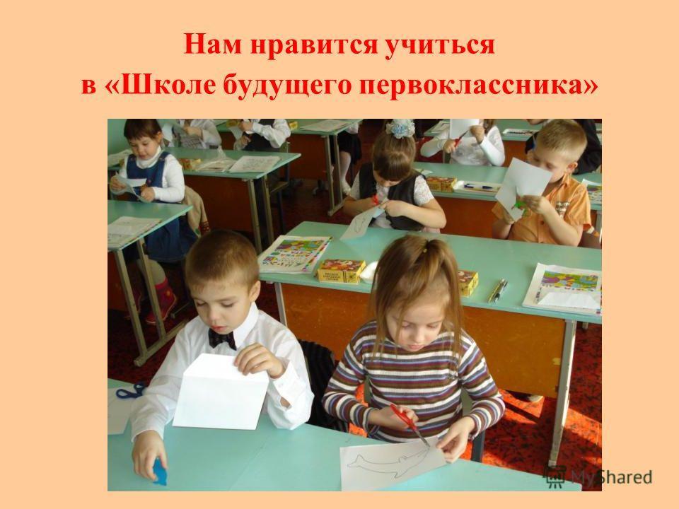 Нам нравится учиться в «Школе будущего первоклассника»