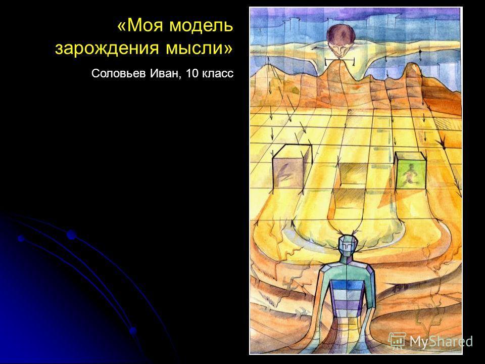 «Моя модель зарождения мысли» Соловьев Иван, 10 класс