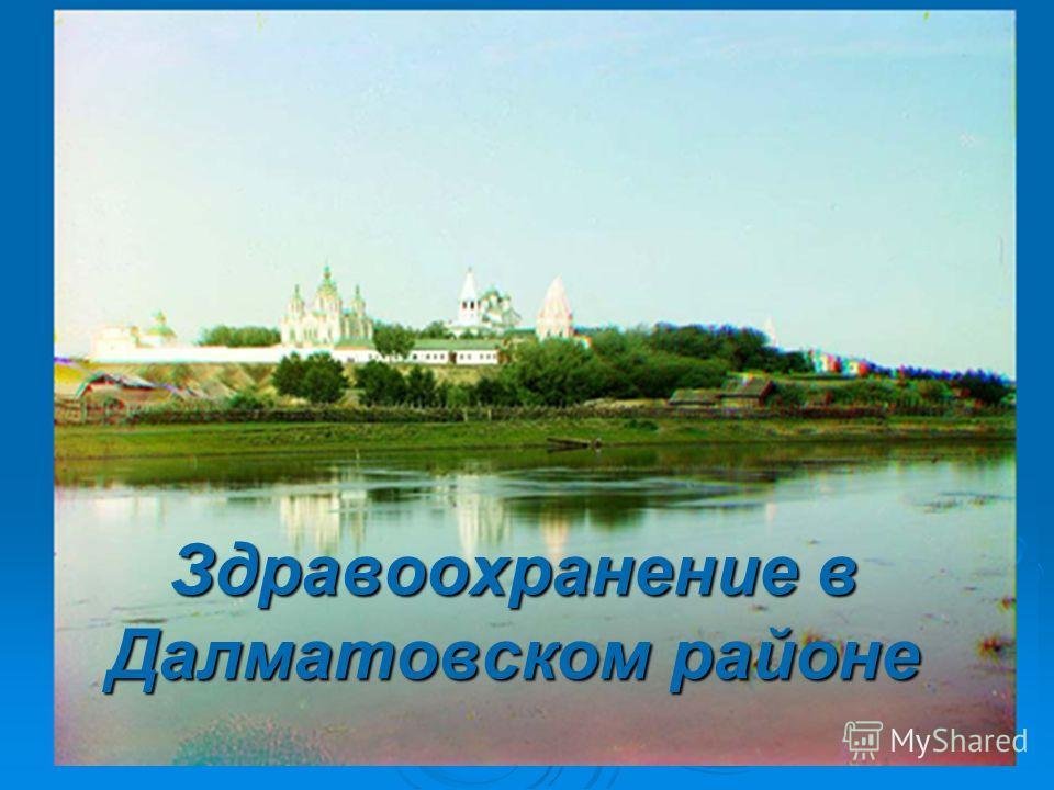 Здравоохранение в Далматовском районе
