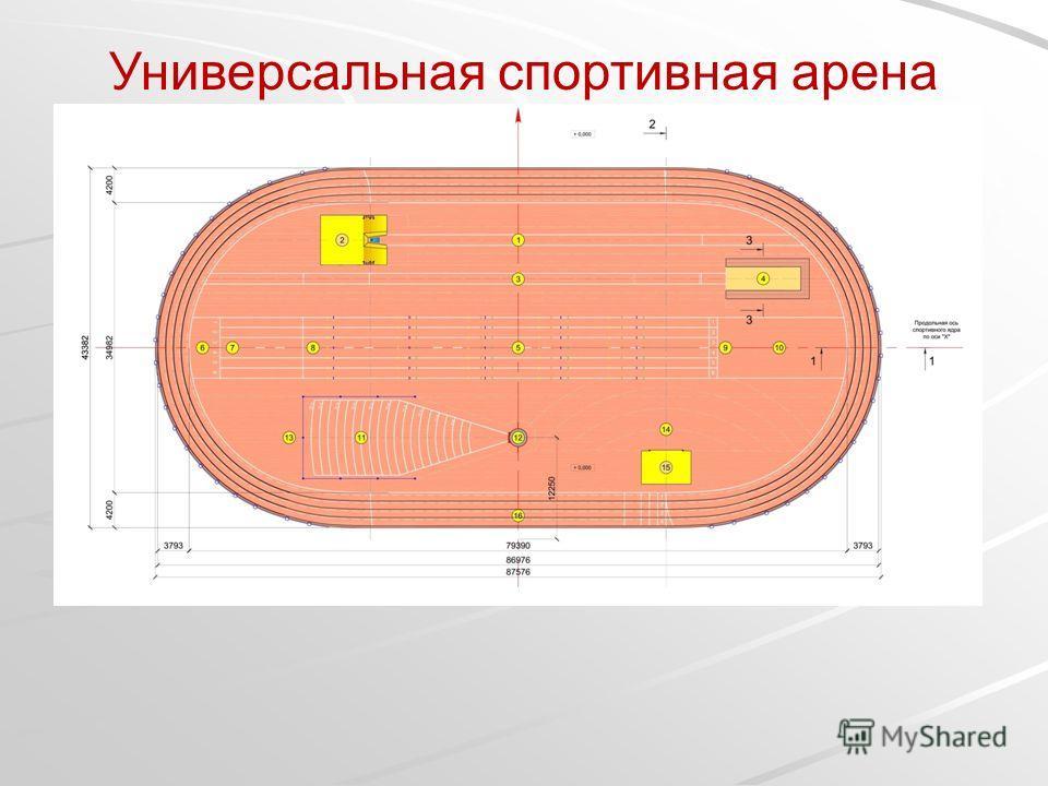 Универсальная спортивная арена