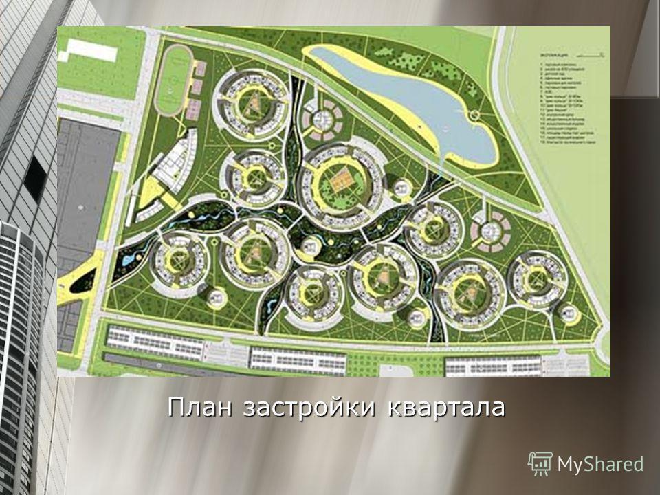План застройки квартала