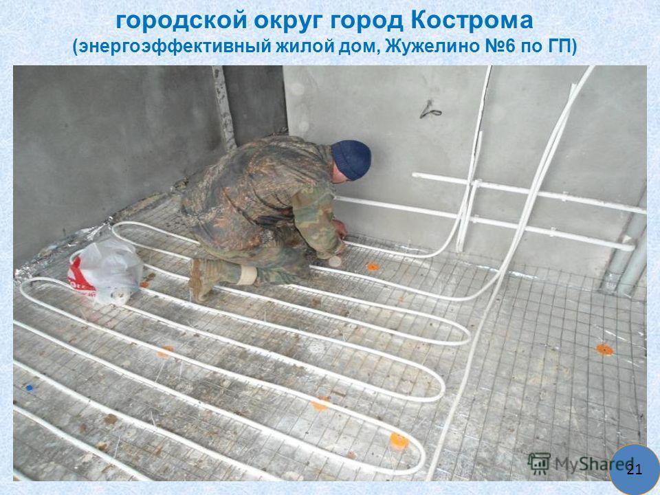 городской округ город Кострома (энергоэффективный жилой дом, Жужелино 6 по ГП) 21
