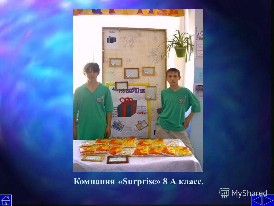 Компания «Surprise» 8 А класс.