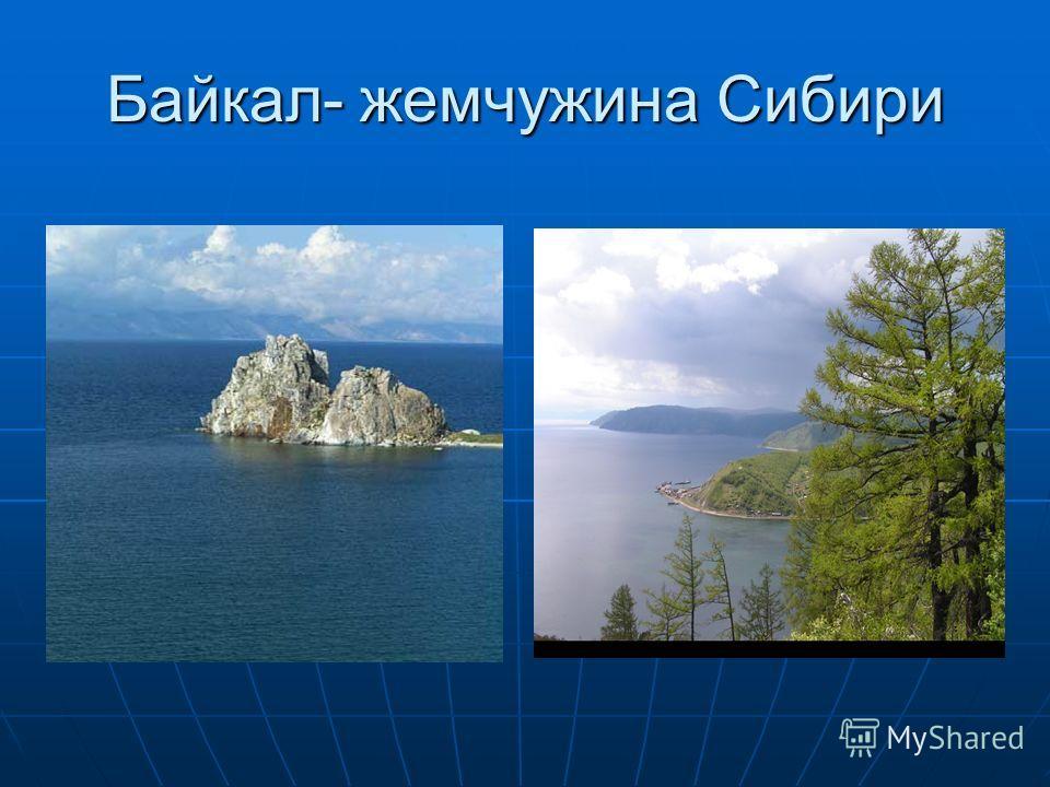 Байкал- жемчужина Сибири