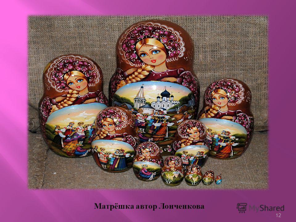 11 Кировская матрёшка Вятская матрёшка