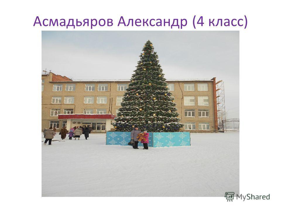 Асмадьяров Александр (4 класс)