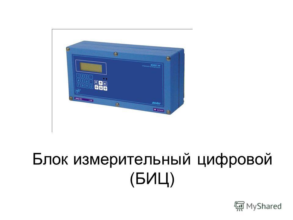 Блок измерительный цифровой (БИЦ)