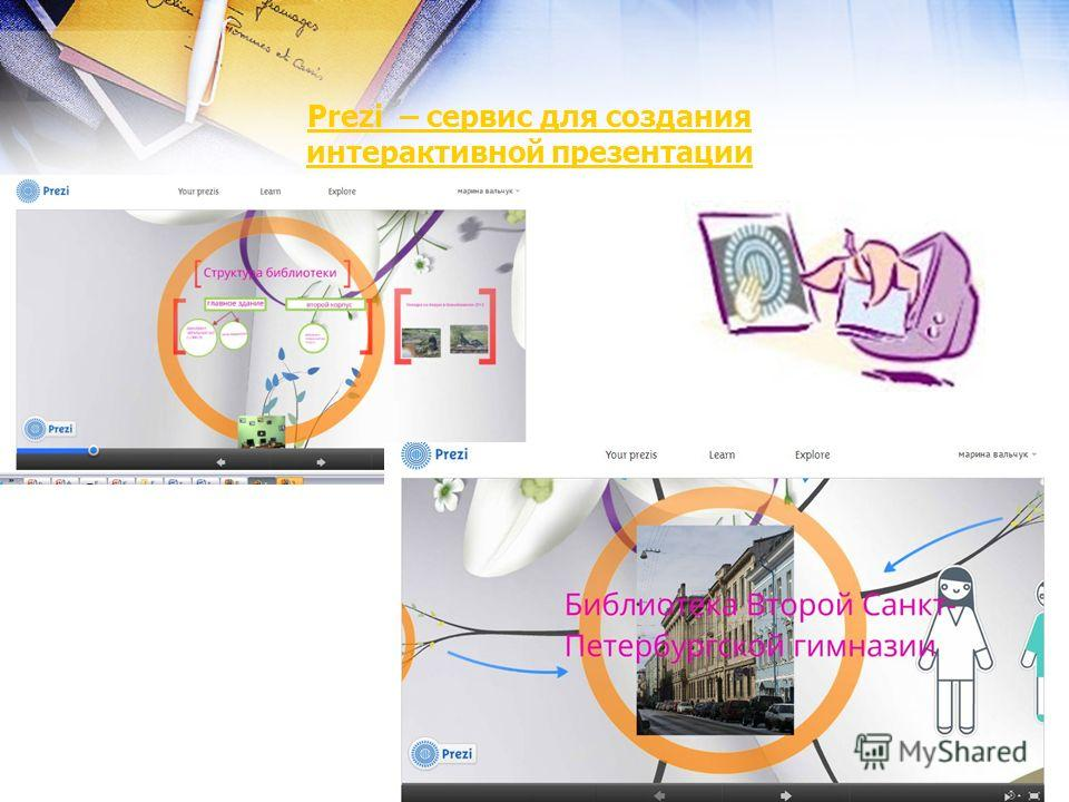 Prezi – сервис для создания интерактивной презентации
