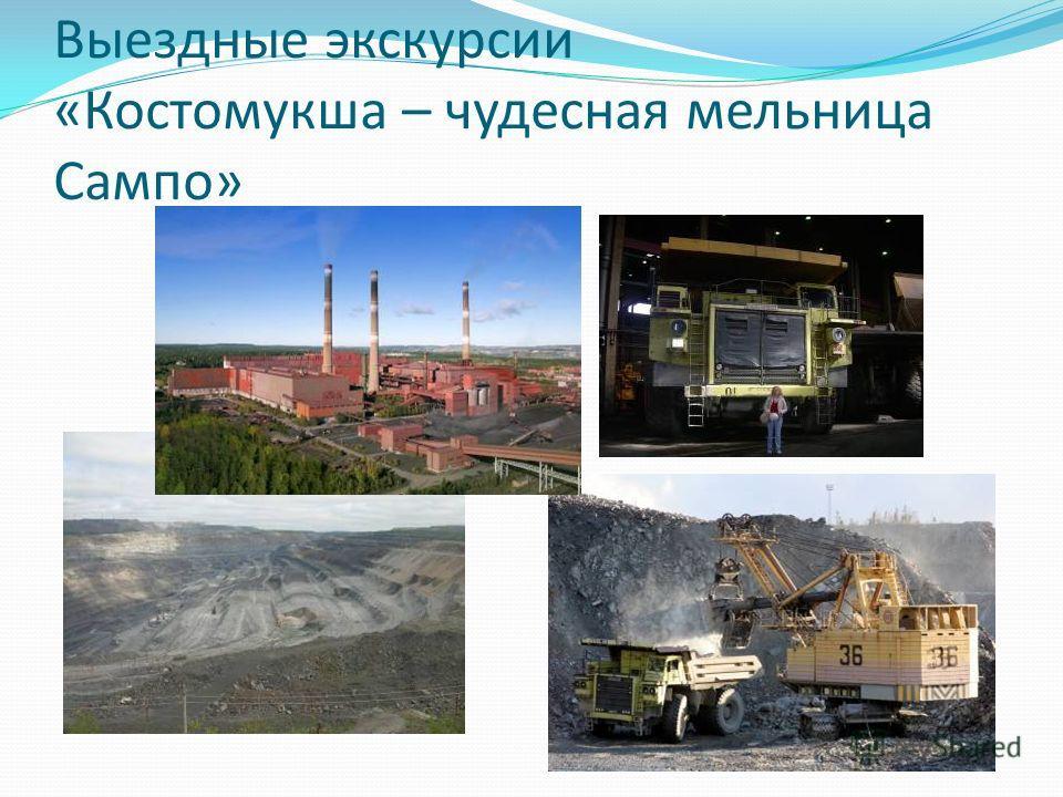 Выездные экскурсии «Костомукша – чудесная мельница Сампо»