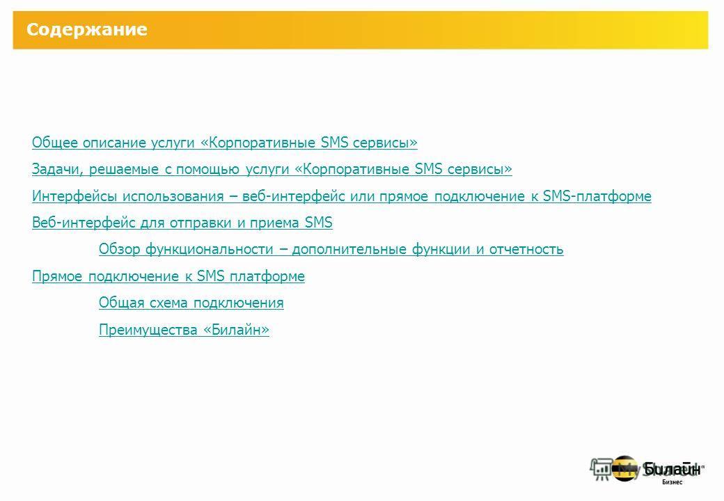 Корпоративные SMS сервисы Описание услуги