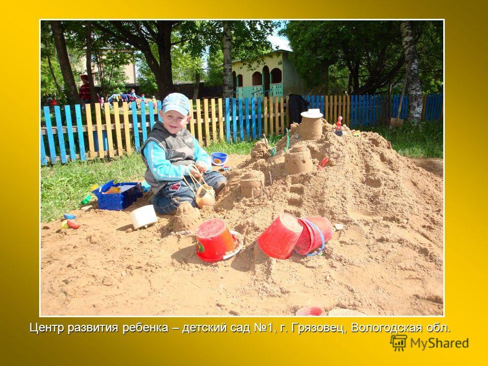Центр развития ребенка – детский сад 1, г. Грязовец, Вологодская обл.