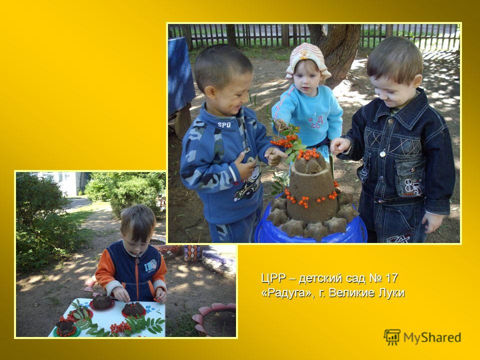 ЦРР – детский сад 17 «Радуга», г. Великие Луки