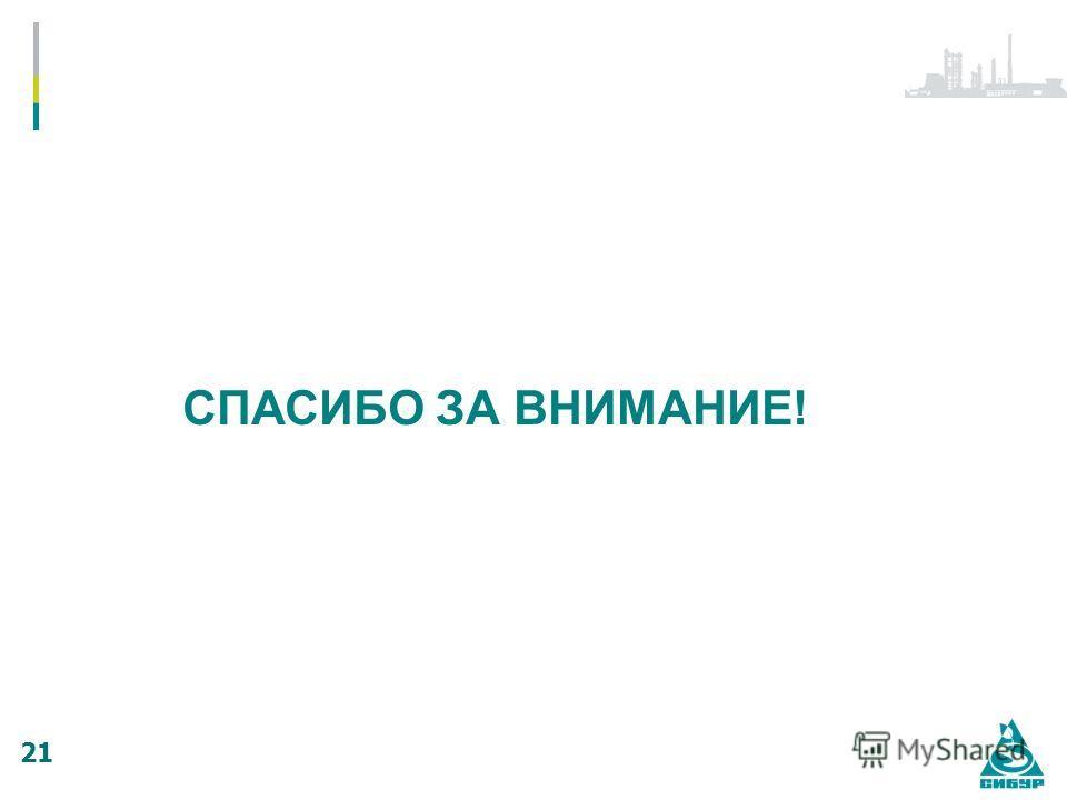 СПАСИБО ЗА ВНИМАНИЕ! 21