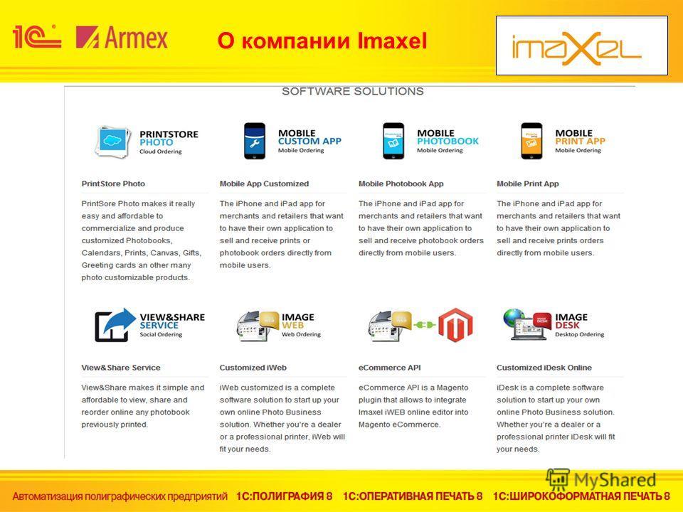 O компании Imaxel