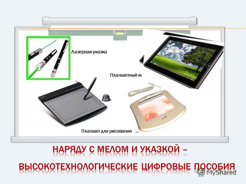Планшетный компьютер Лазерная указка Планшет для рисования