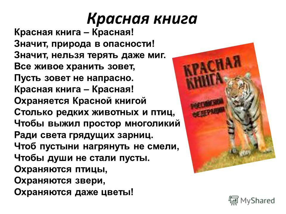 Первая Красная книга появилась почти 30 лет назад